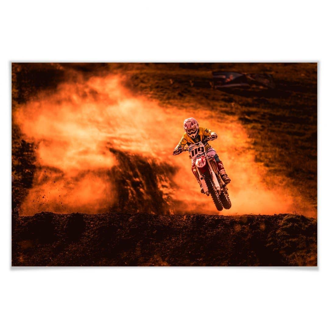 Poster Igor-Motocross