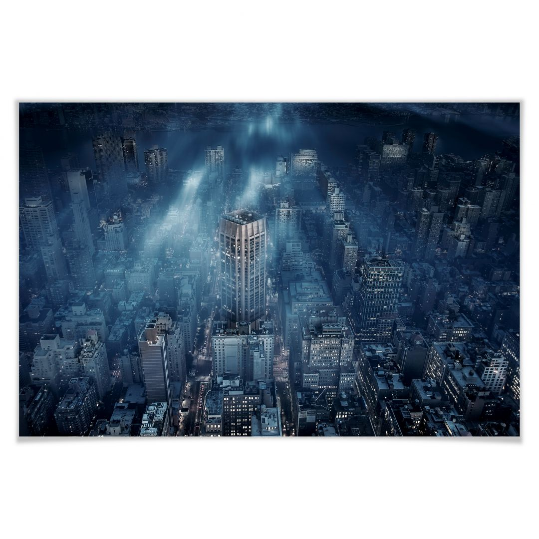 Poster Løndal - Nebel in NYC
