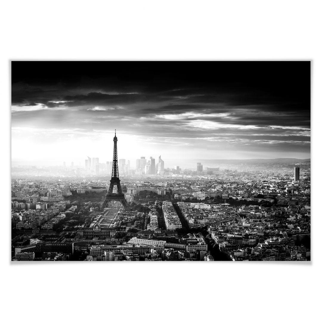 Poster Marx - Paris infog