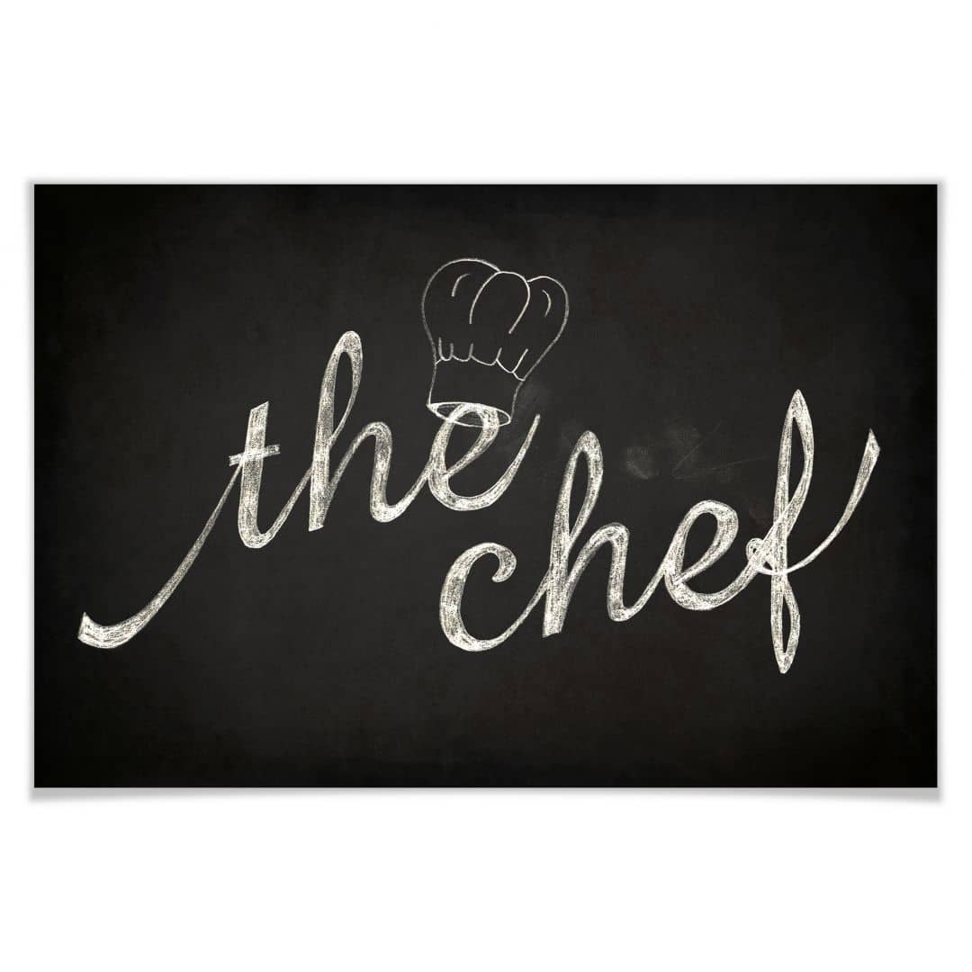 Poster the chef wall - Poster per cucina ...
