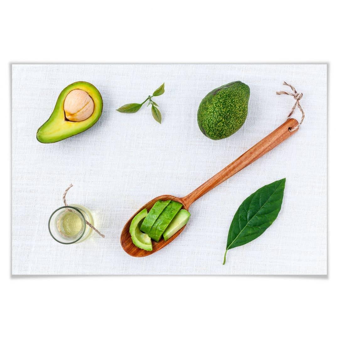 Poster Frische Avocado