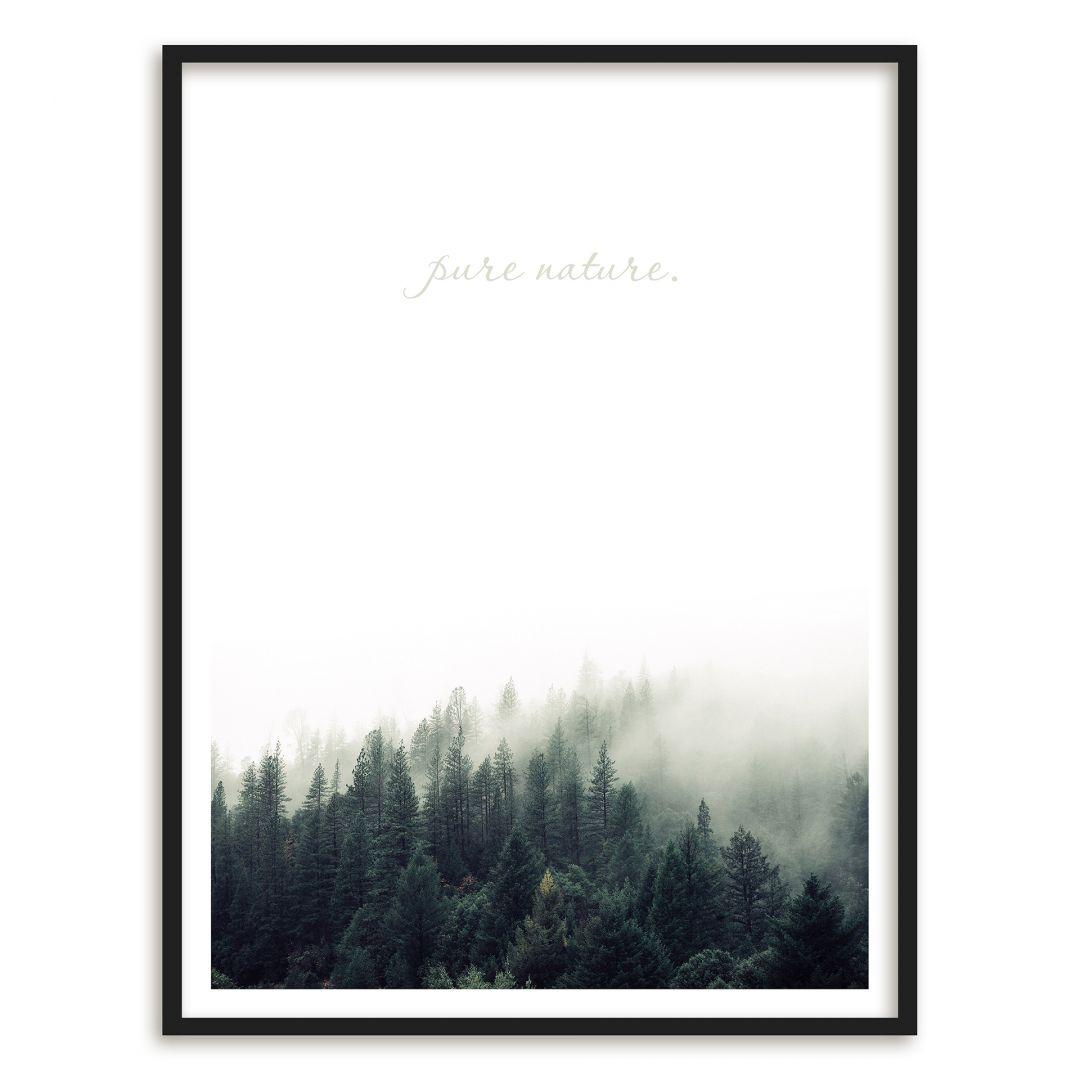 Gerahmtes Poster Pure Nature | wall-art.de