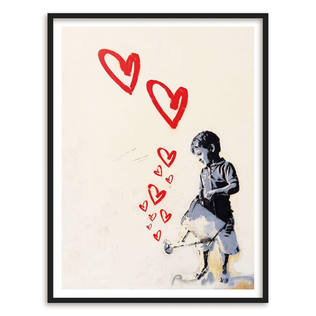 Poster con cornice street art 01 for Cornice poster 61x91