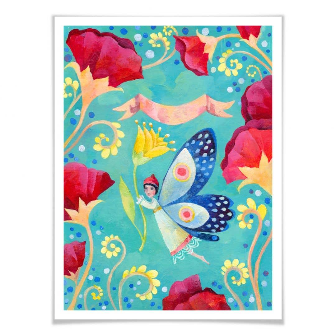 Poster Blanz - Schmetterling