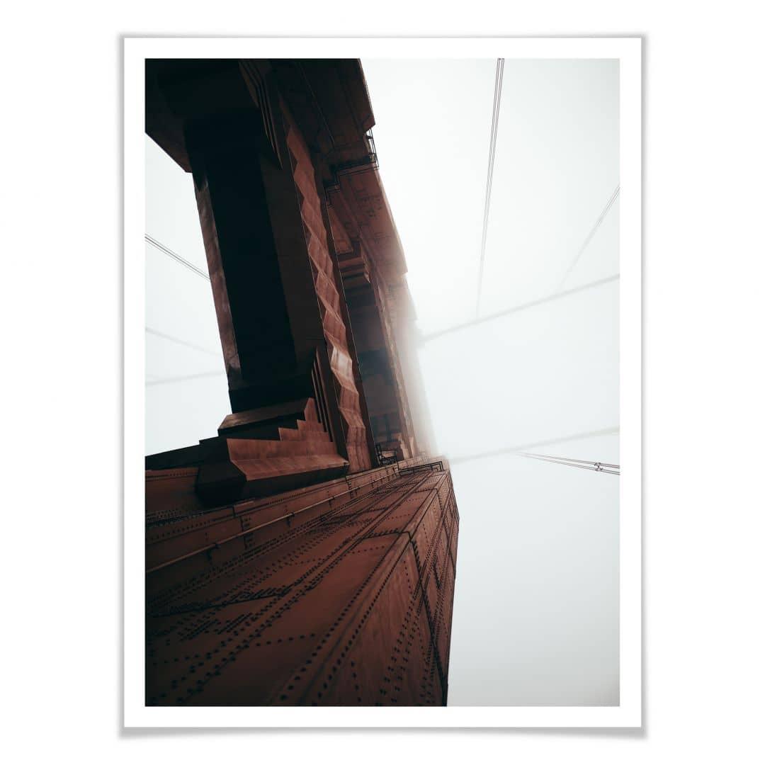 Poster Hoch hinaus