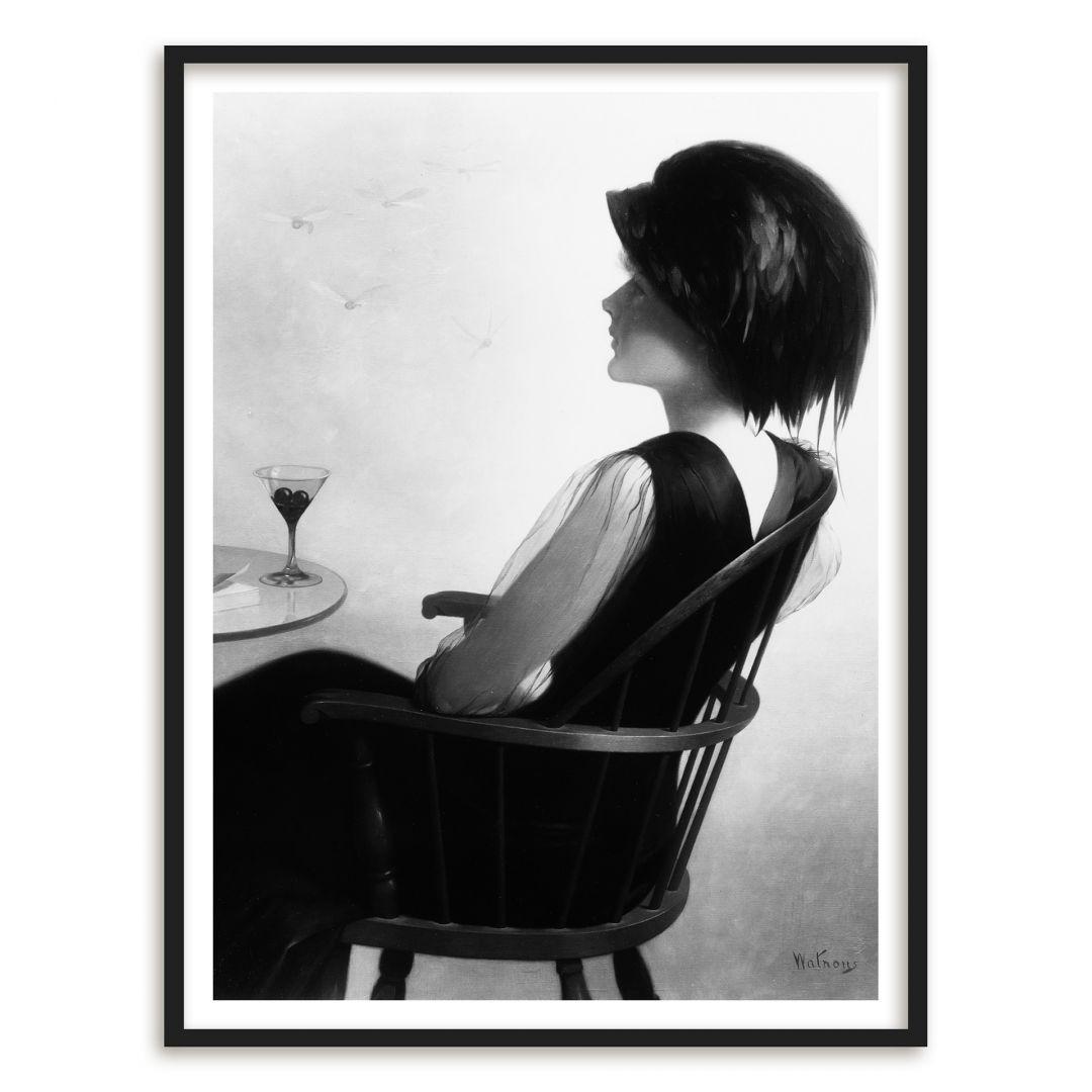 Poster mit Bilderrahmen Watrous - The passing of Summer