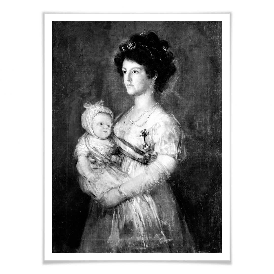 Poster Infantin María Luisa