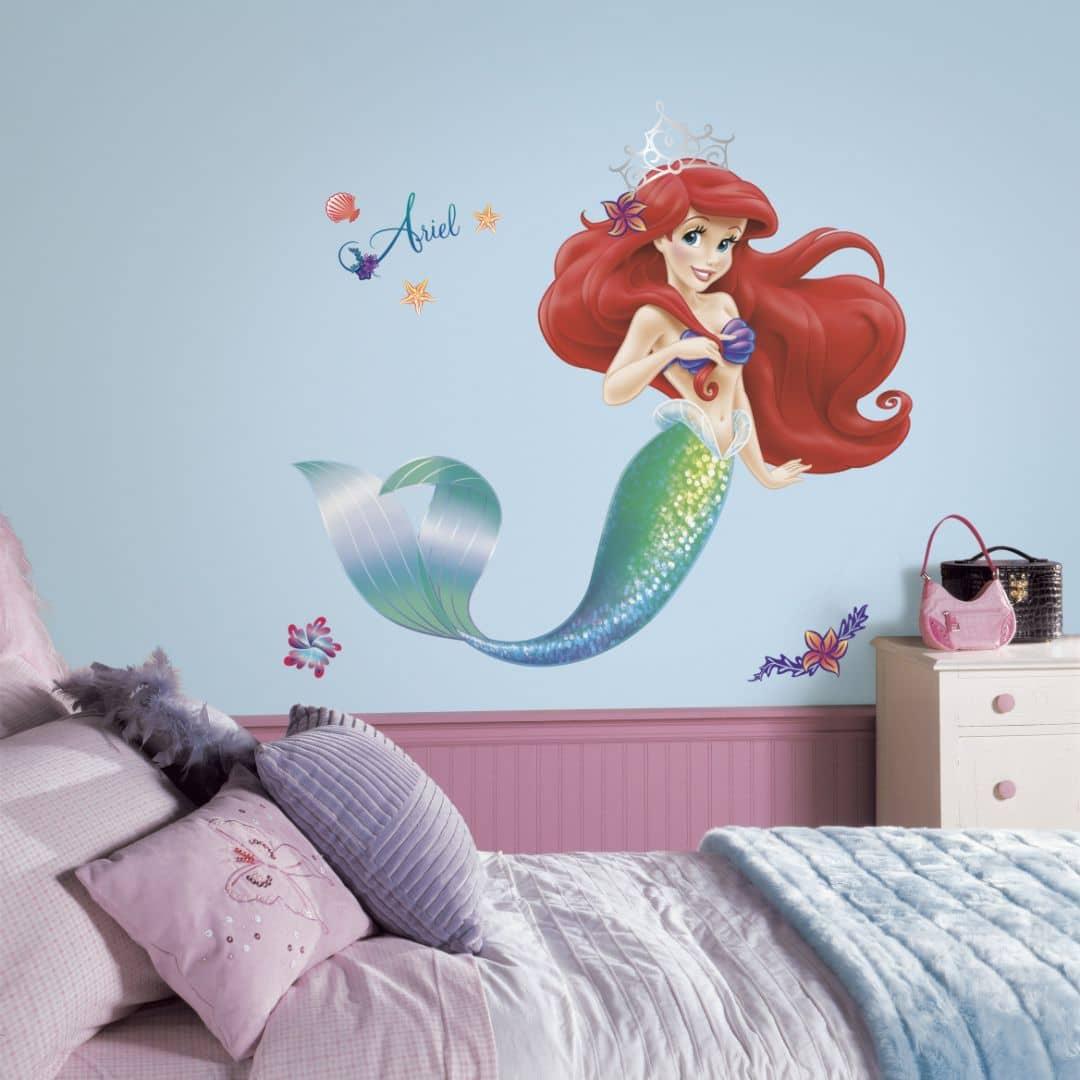 Muursticker Disney Ariel - Maxi Sticker