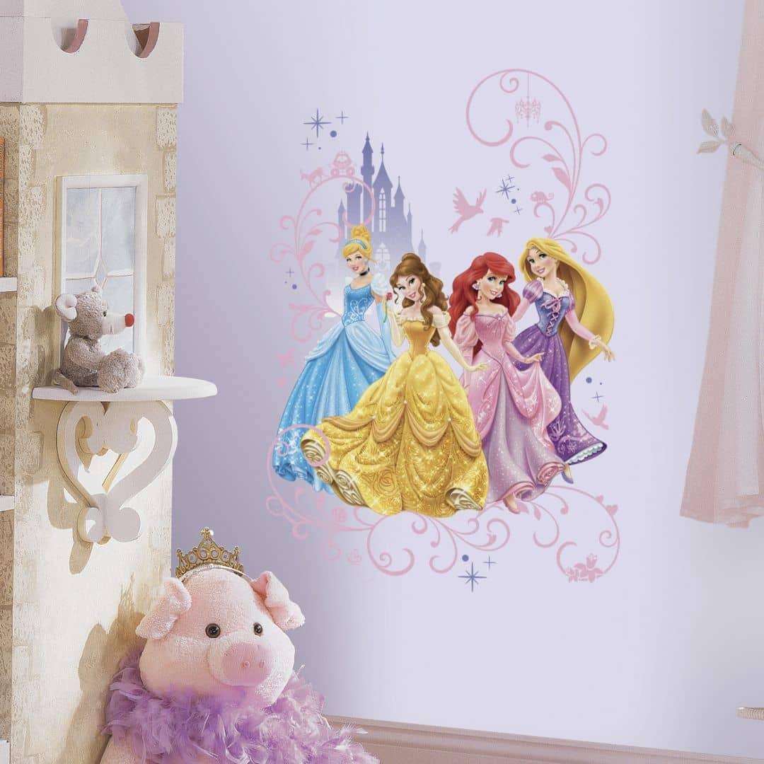 Muursticker Disney Princess - Maxi Sticker