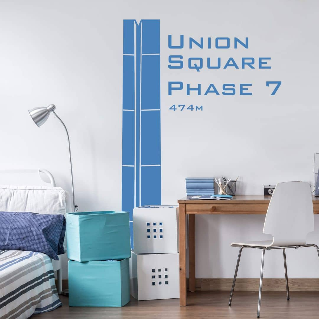 Wandtattoo Union Square Phase 7