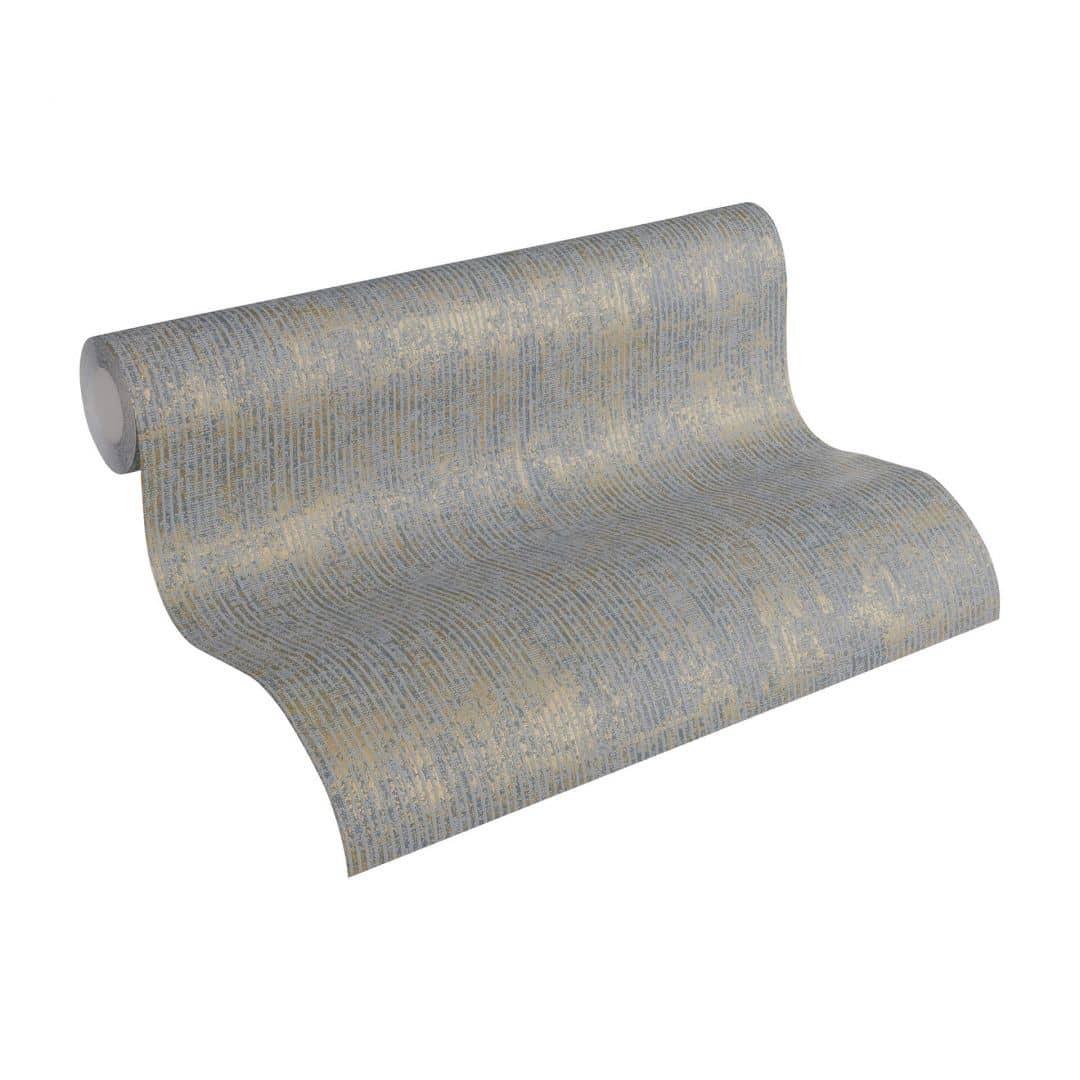 sch ner wohnen vliestapete grau metallic 358682 wall. Black Bedroom Furniture Sets. Home Design Ideas