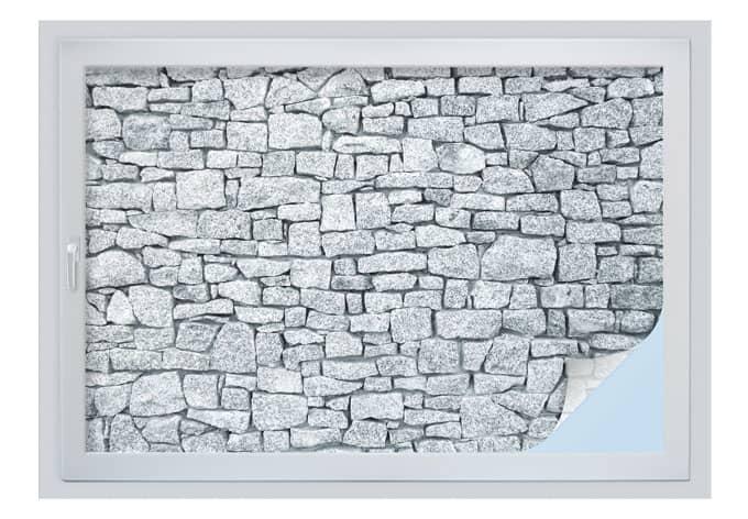 Pellicola adesiva per vetri muro di granito for Pellicola adesiva per vetri ikea