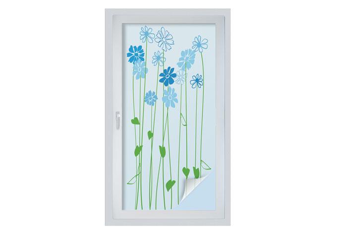 Pellicola adesiva per vetri floray panoramica for Pellicola adesiva per vetri ikea