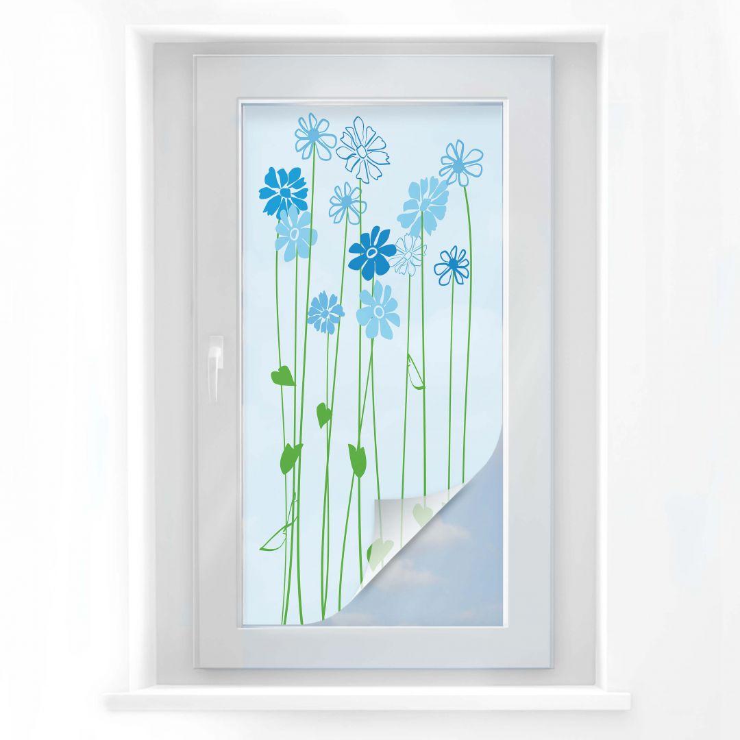 Pellicola adesiva per vetri floray panoramica wall for Finestra 50x100