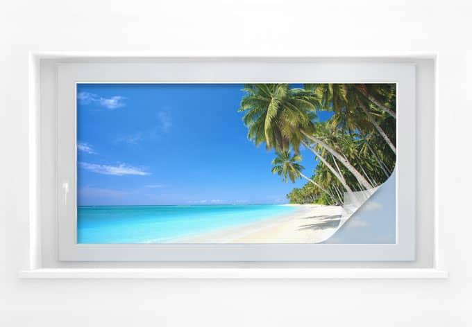 Sichtschutzfolie Paradise - Panorama