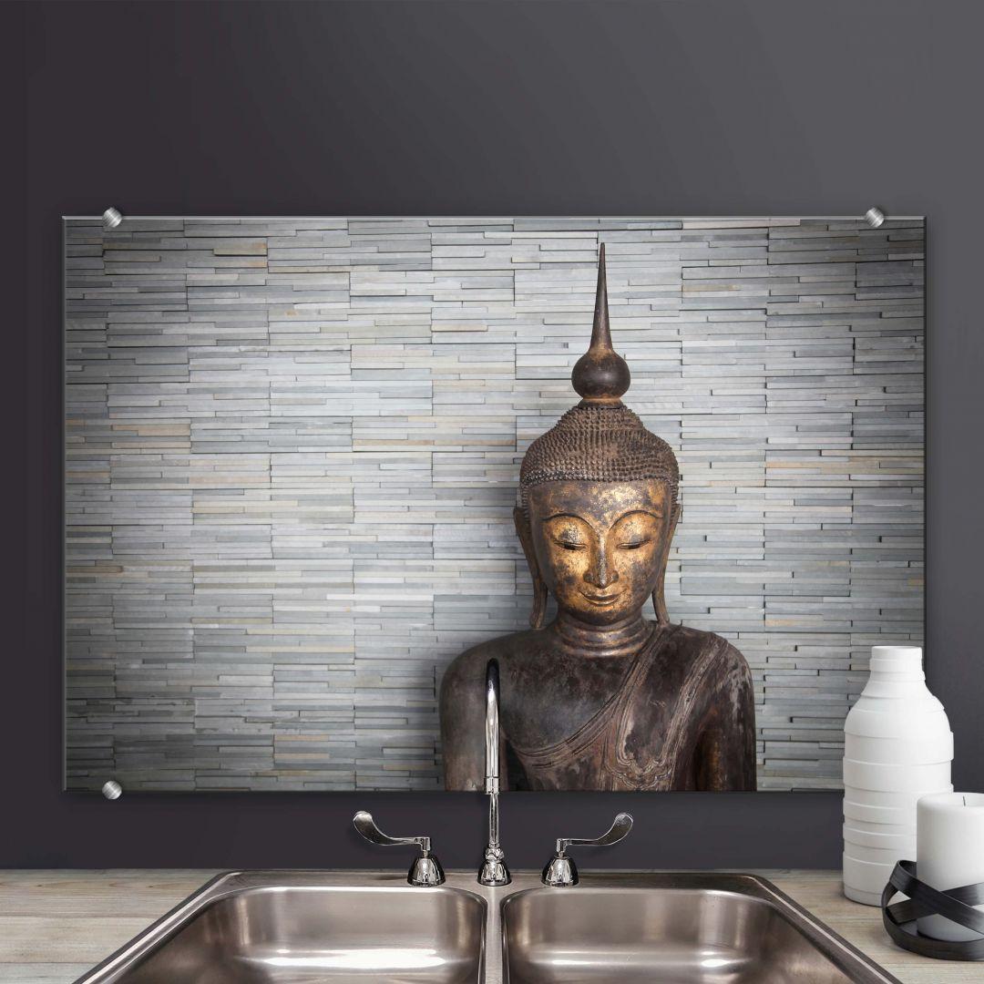 Spatscherm Alu-Dibond Thailand Boeddha