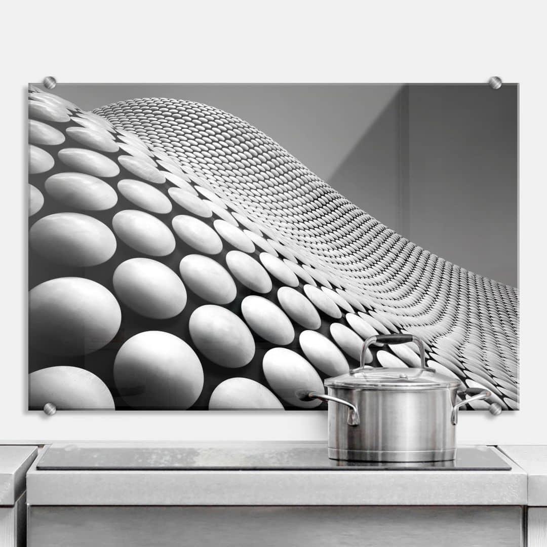 k chenr ckwand wride curve wall. Black Bedroom Furniture Sets. Home Design Ideas