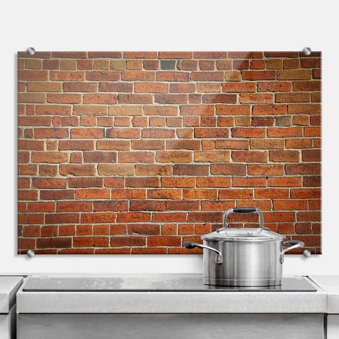 Brick Wall - Kitchen Splashback