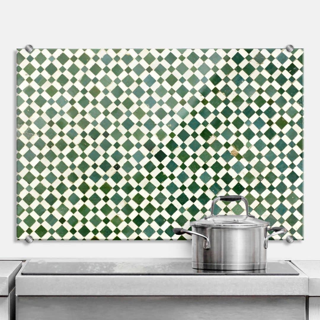 Pannello paraschizzi mosaico 02 for Paraschizzi cucina mosaico