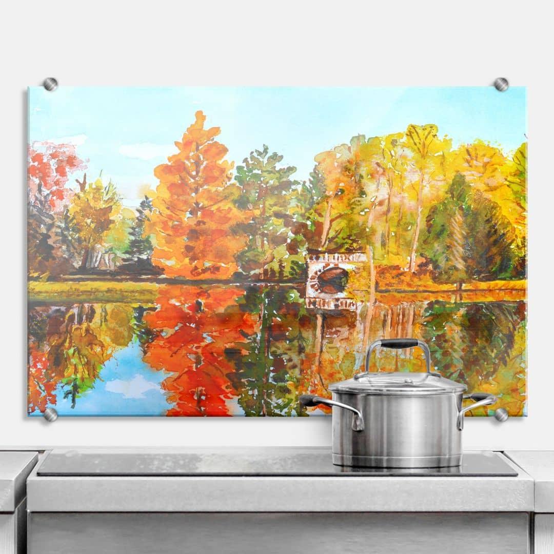 Toetzke - Indian Summer - Kitchen Splashback | wall-art.com