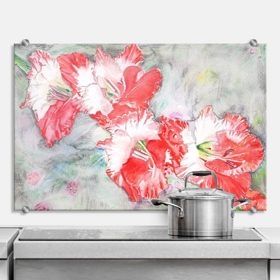 spritzschutz toetzke smooth grey wall. Black Bedroom Furniture Sets. Home Design Ideas
