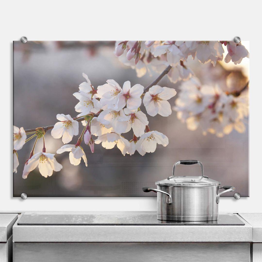 Cherry Branch - Kitchen Splashback