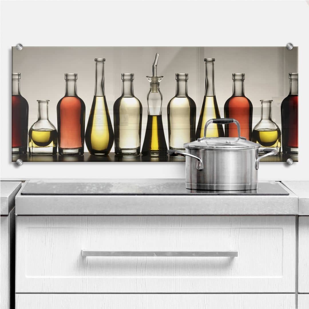 Olio e Aceto - Panorama - Kitchen Splashback