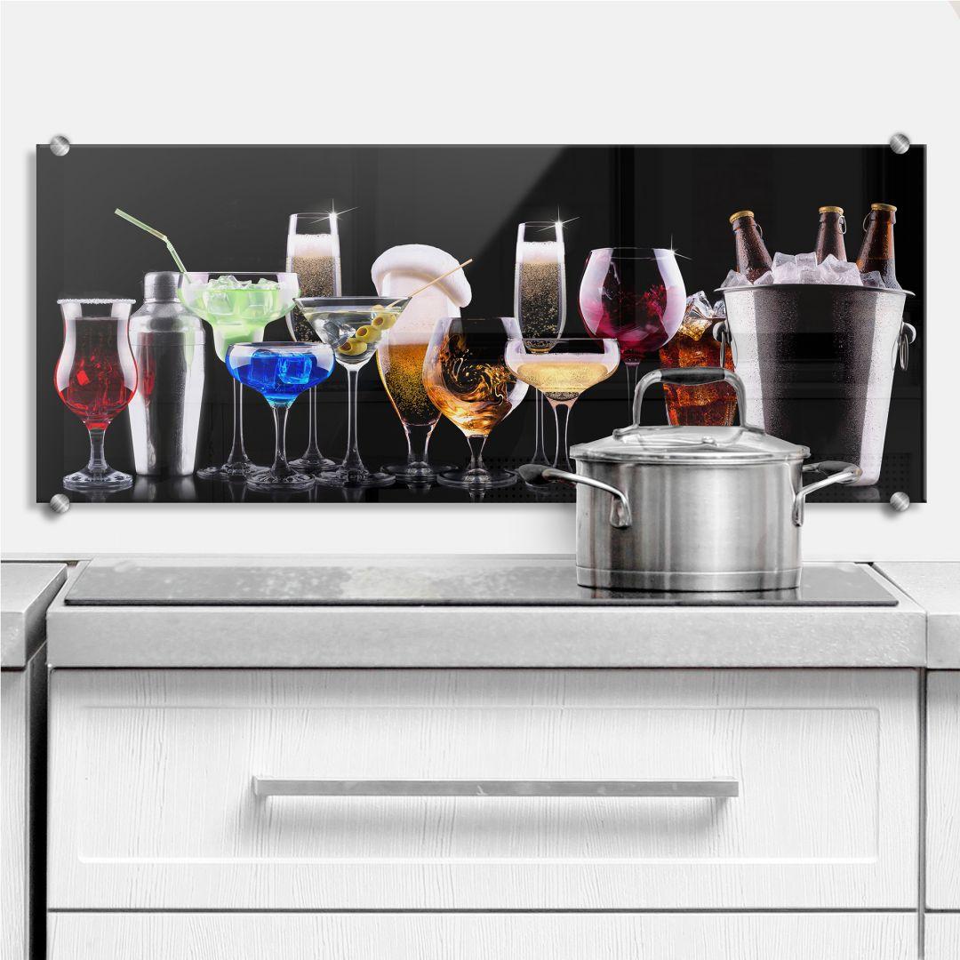 Cocktail Feeling - Panorama - Kitchen Splashback
