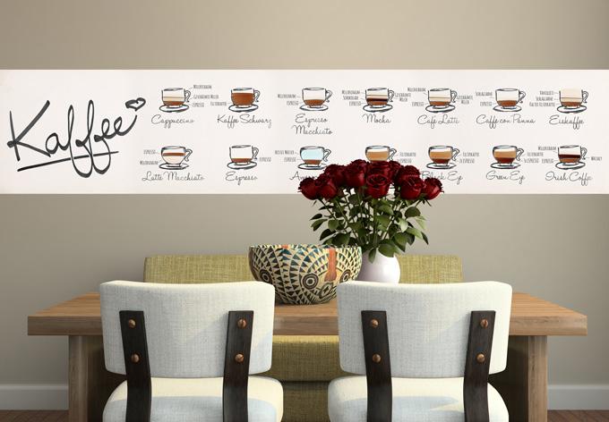 fotomurale tipi di caff. Black Bedroom Furniture Sets. Home Design Ideas