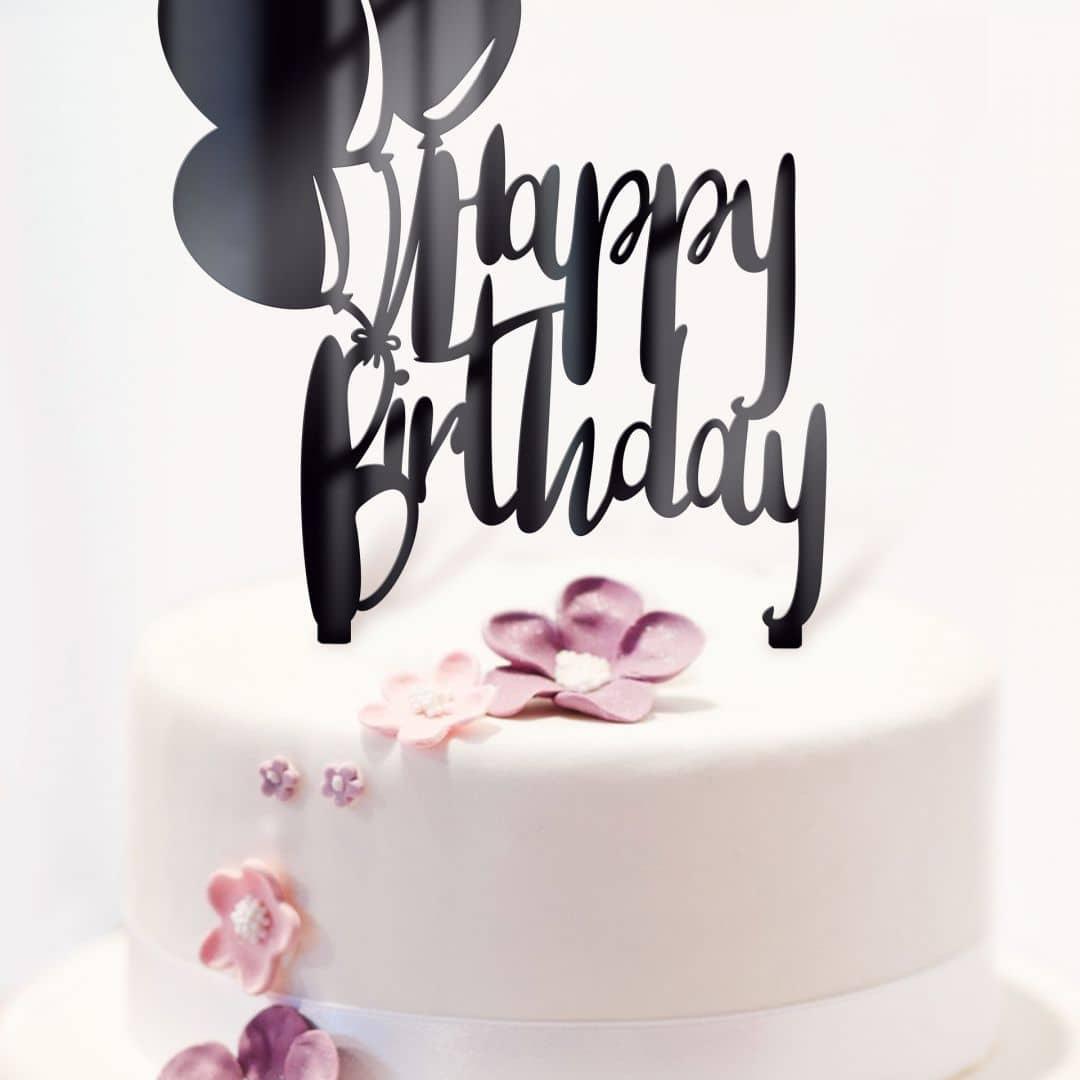 Tortenstecker - Happy Birthday 01