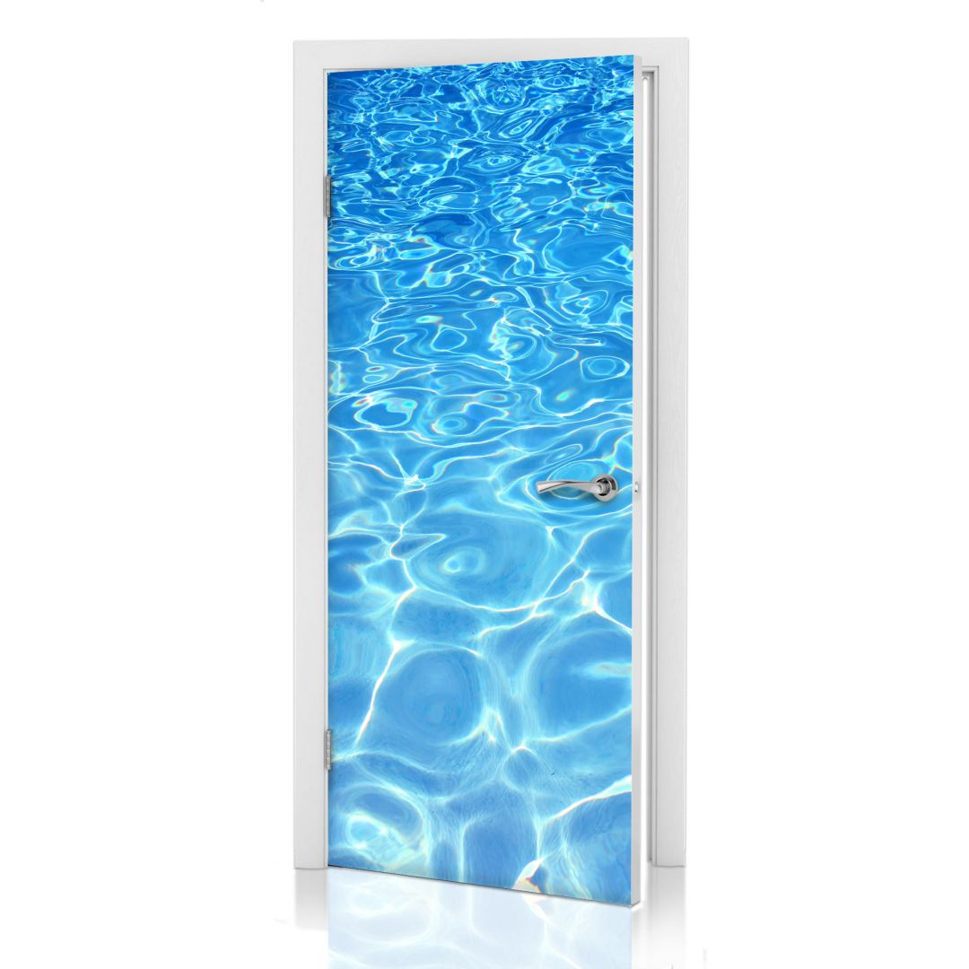 Adesivi per porte piscina infinita wall for Adesivi per piscine