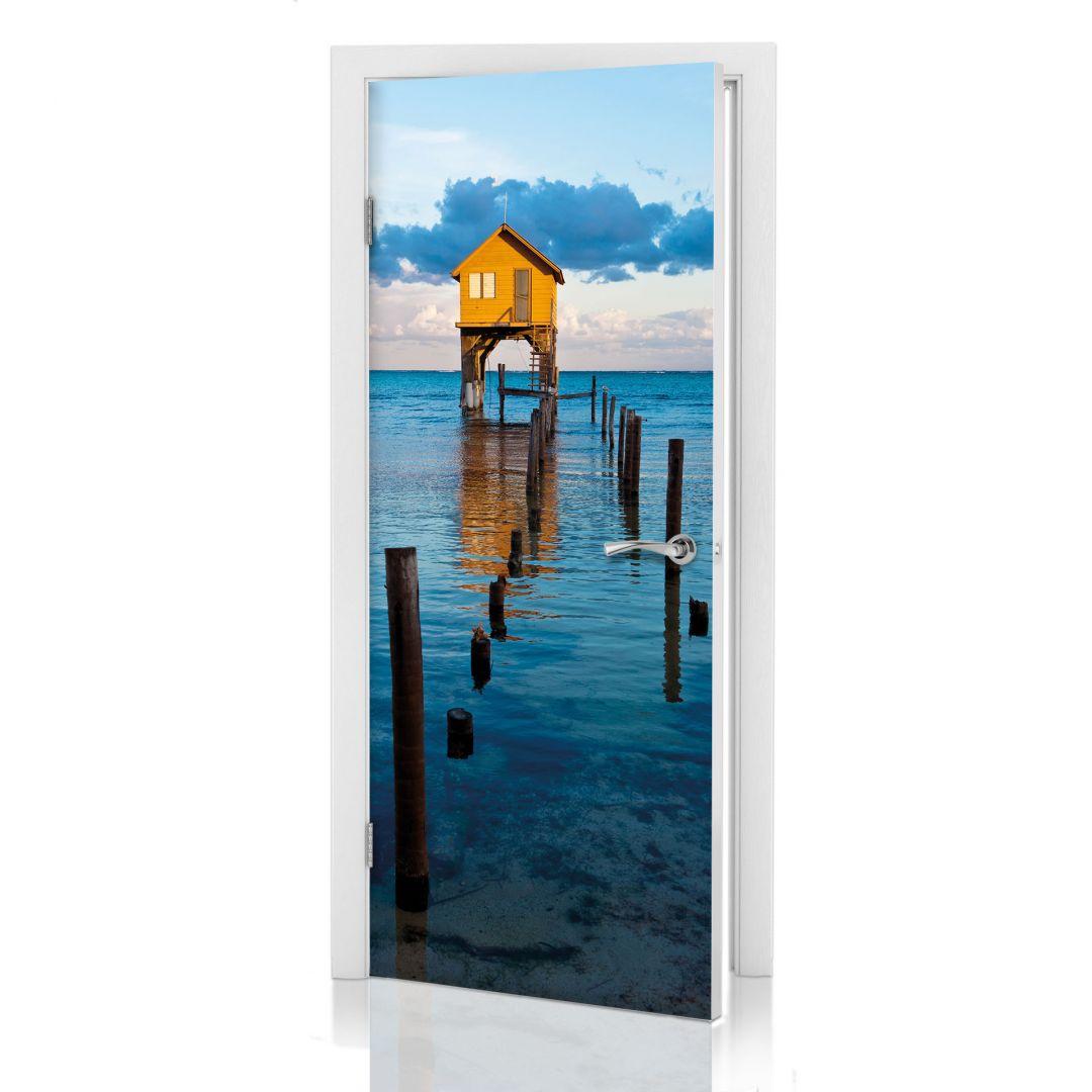 Adesivi per porte palafitta - Pellicole adesive per porte ...