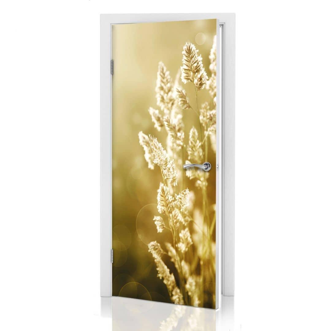 Adesivi per porte campo di grano - Pellicole adesive per porte ...