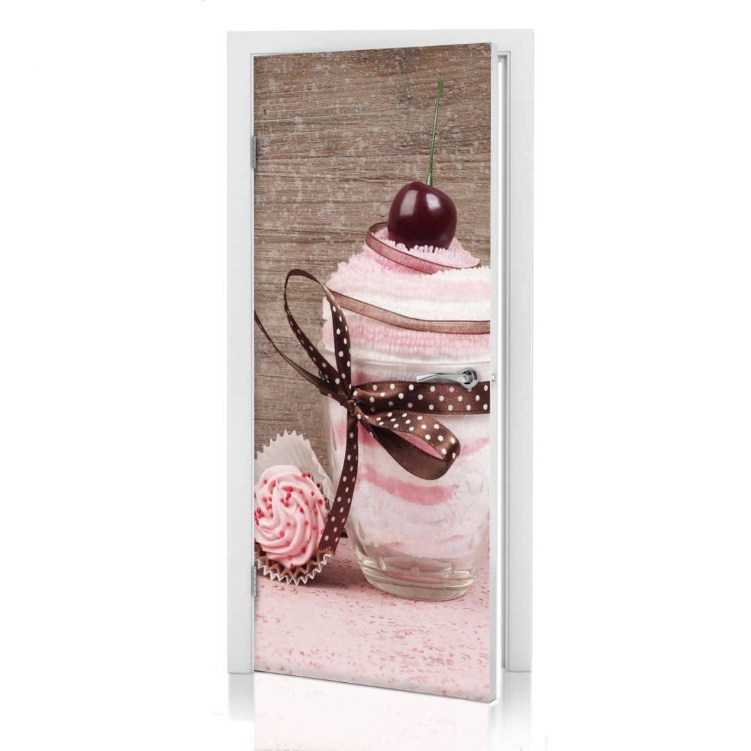 Adesivi per porte sweet dessert - Pellicole adesive per porte ...