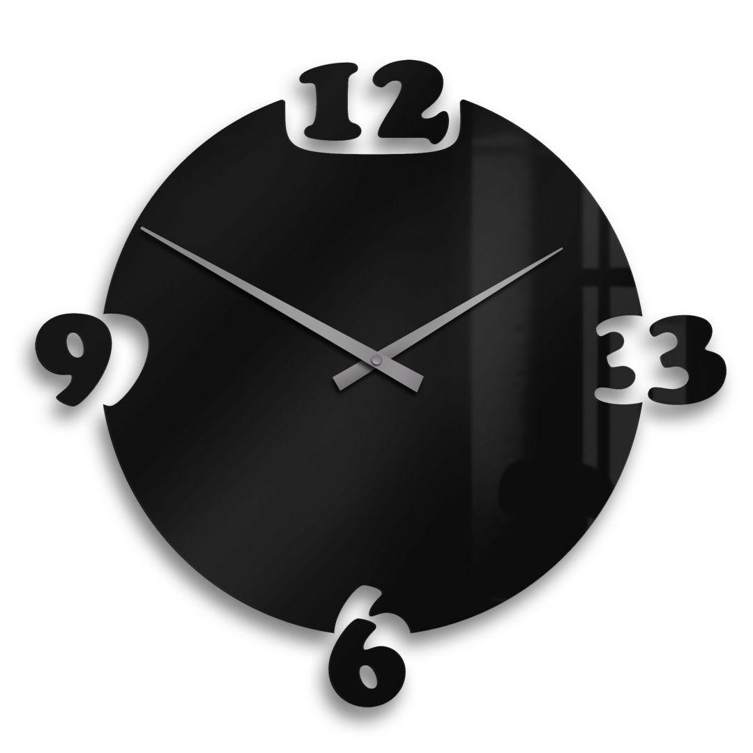 Acrylic Wall Clock Breakaway Incl 8 Adhesive Pads Wall