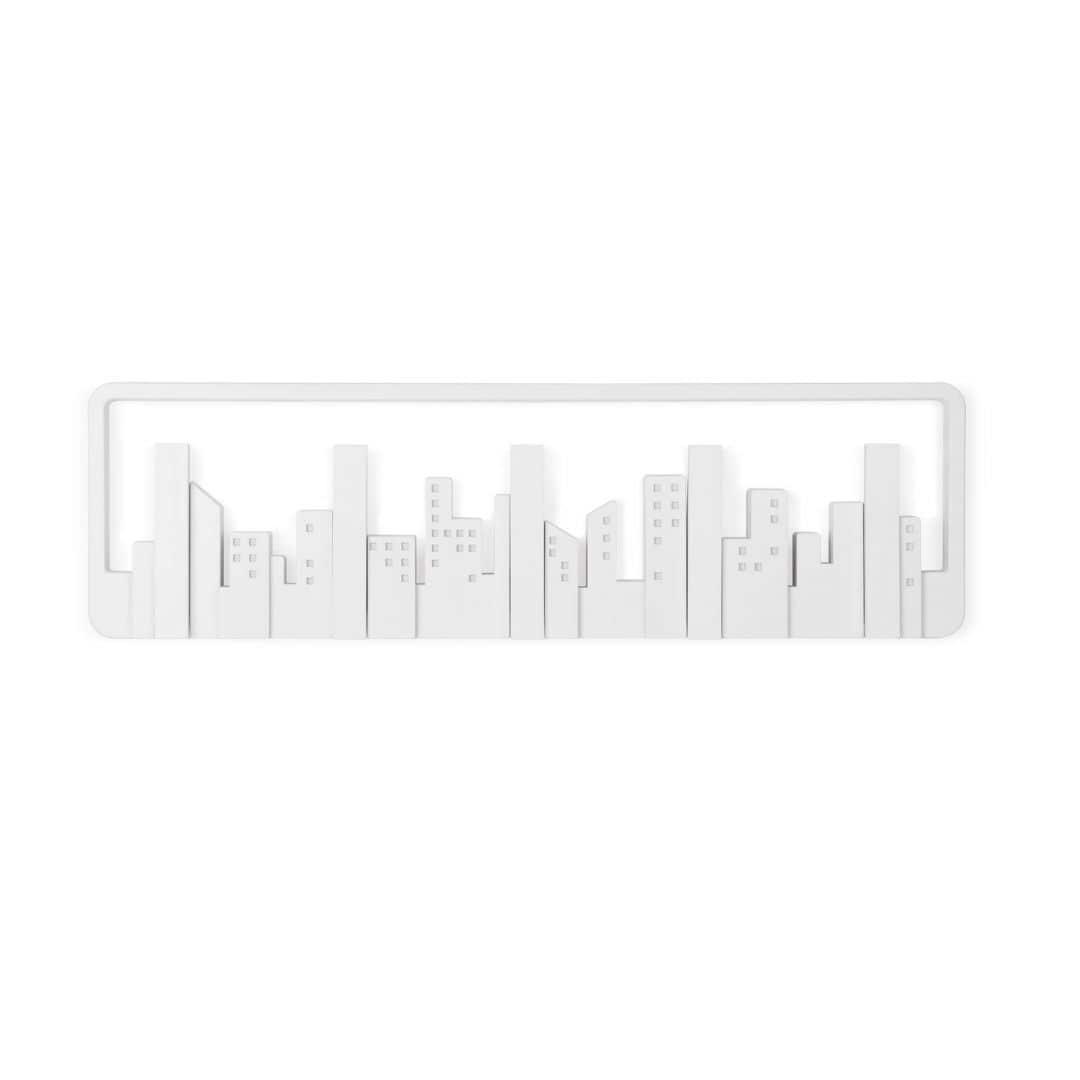 Design Coat Rack Skyline – white
