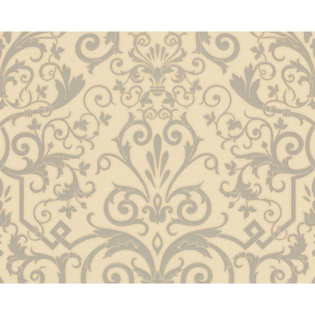 Versace wallpaper carta da parati herald colore crema for Carte da parati decorative