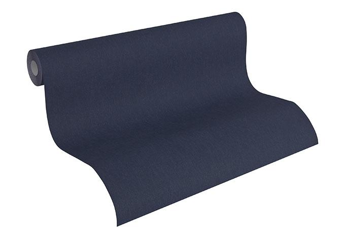 A.S. Création Mustertapete Tapete Fleece Royal Blau