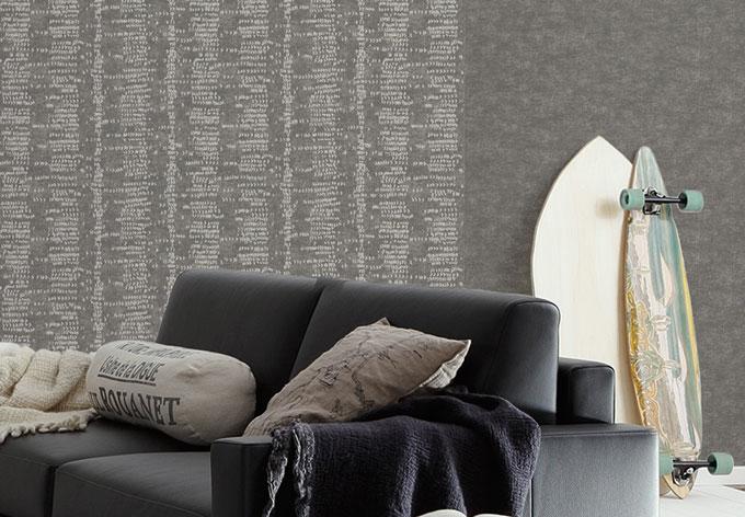 sch ner wohnen vliestapete beige grau wall. Black Bedroom Furniture Sets. Home Design Ideas