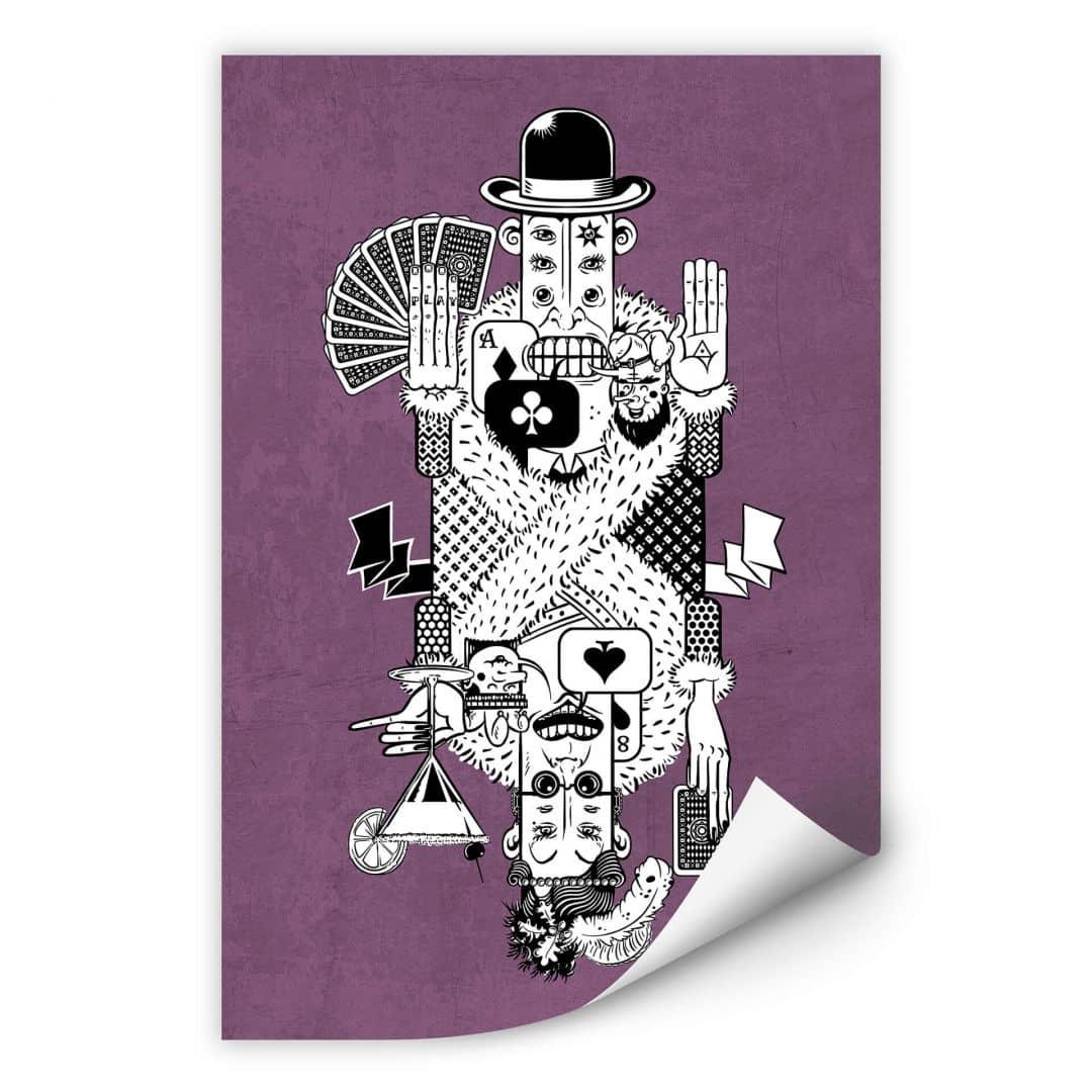 Wallprint Drawstore - Playing Cards
