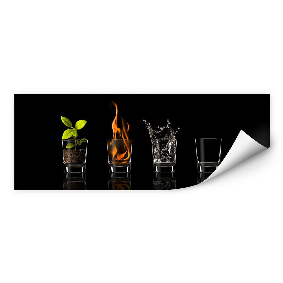 Wallprint Frutos Vargas - The Four Elements - Panorama