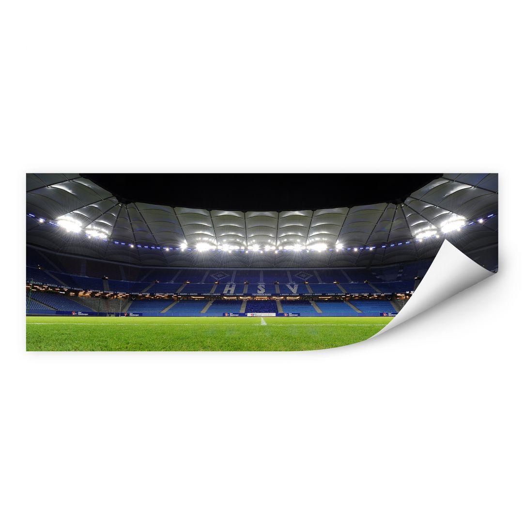 Wallprint W - HSV Arena Nacht - Panorama