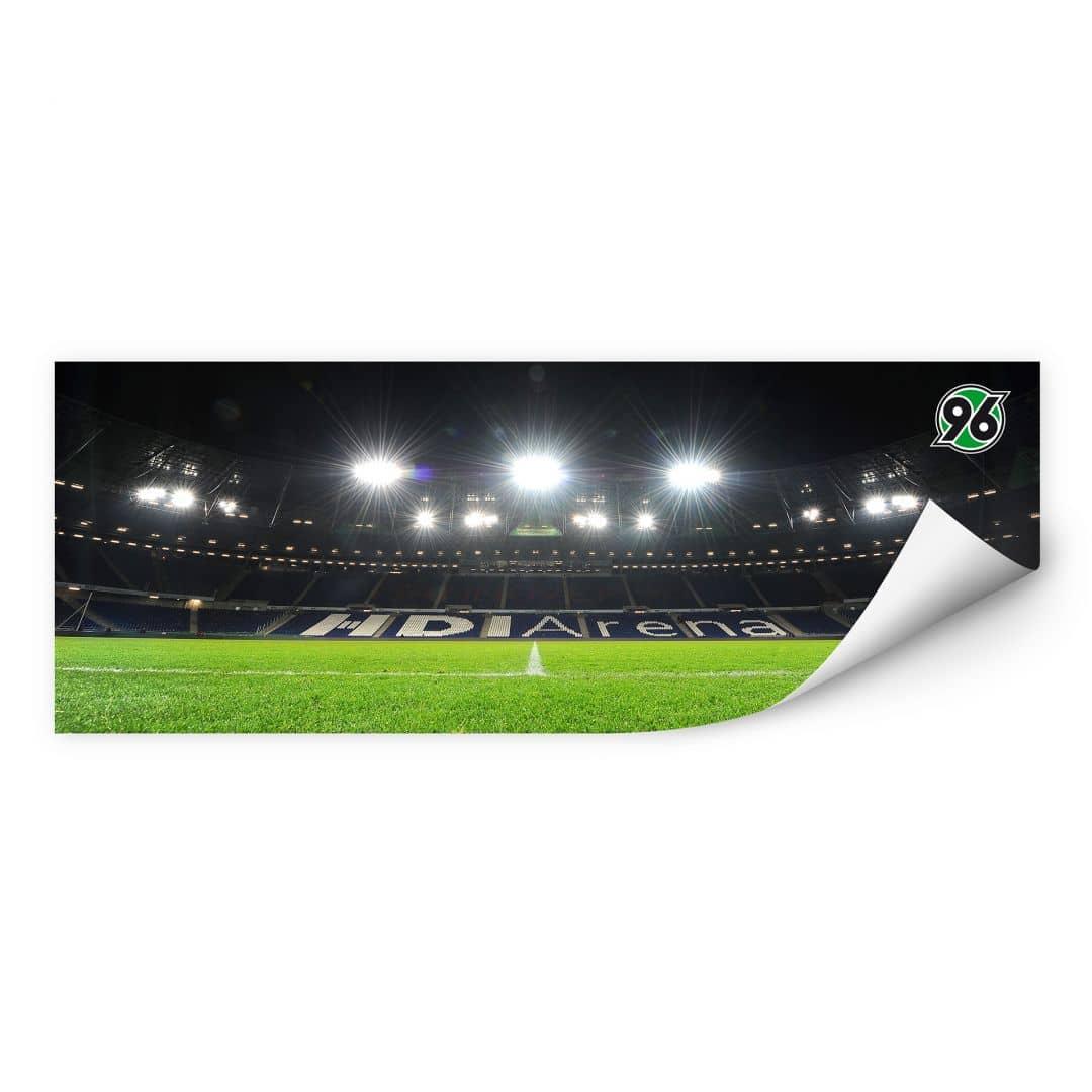 Wallprint W - Hannover 96 - HDI-Arena Nacht - Panorama