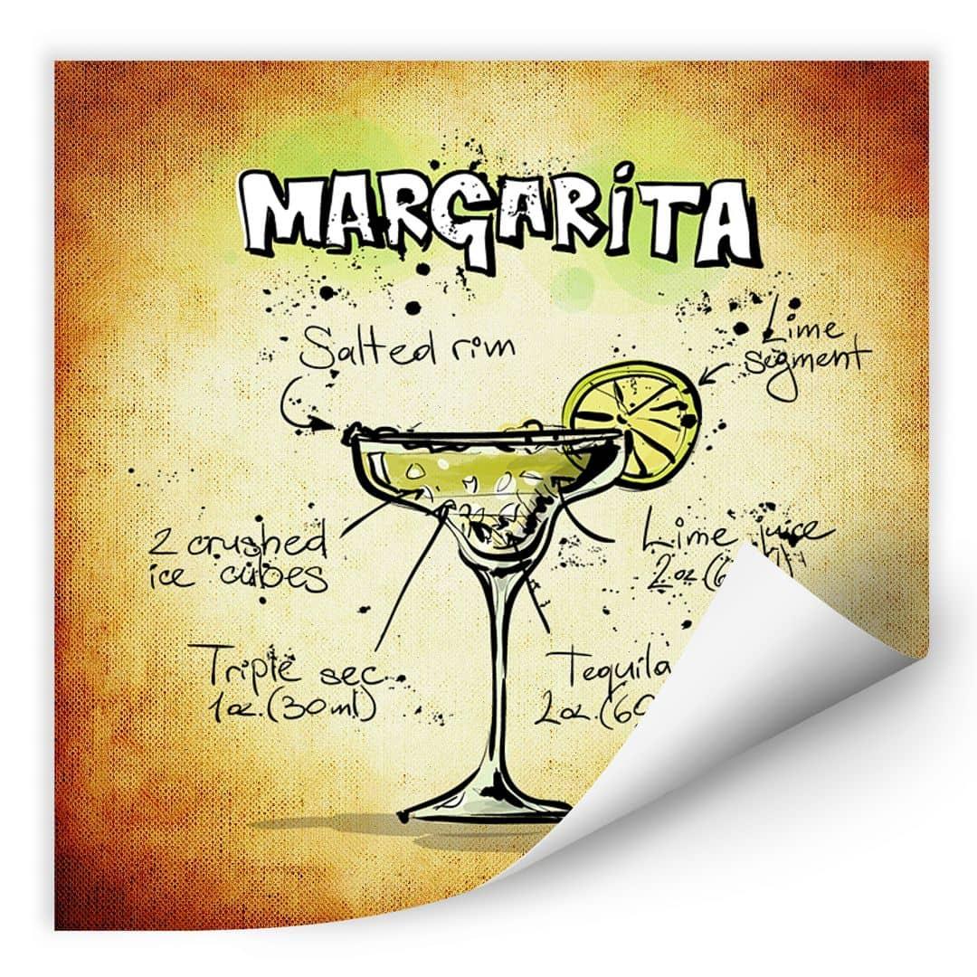 Wall print Margarita