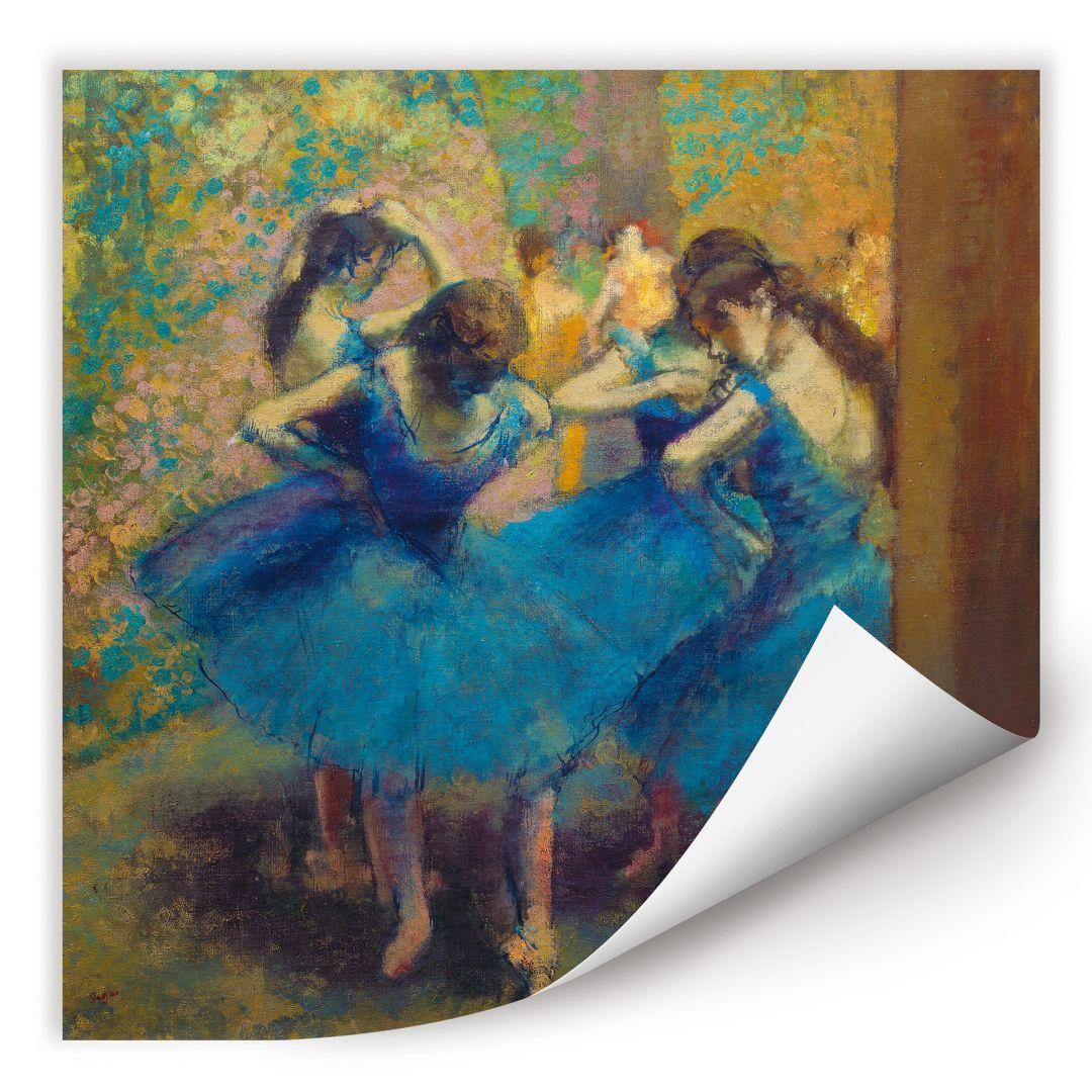 Wallprint Degas - Die blauen Tänzerinnen