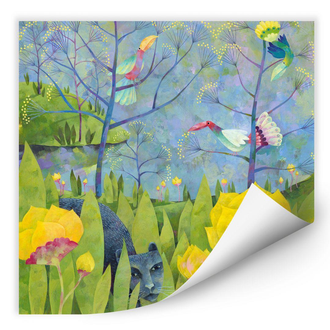 Wallprint Blanz - Im Dschungel