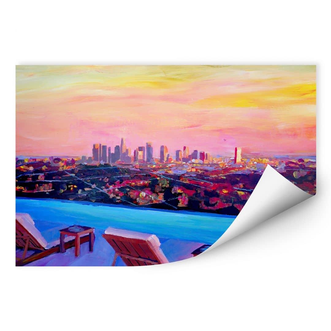 Wallprint Bleichner - Los Angeles