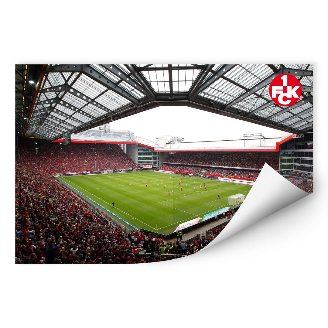 Wallprint 1. FC Kaiserslautern - Stadion Innenansicht