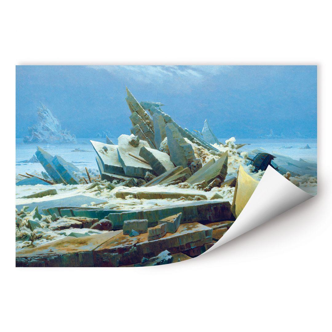 Wallprint Friedrich - Das Eismeer