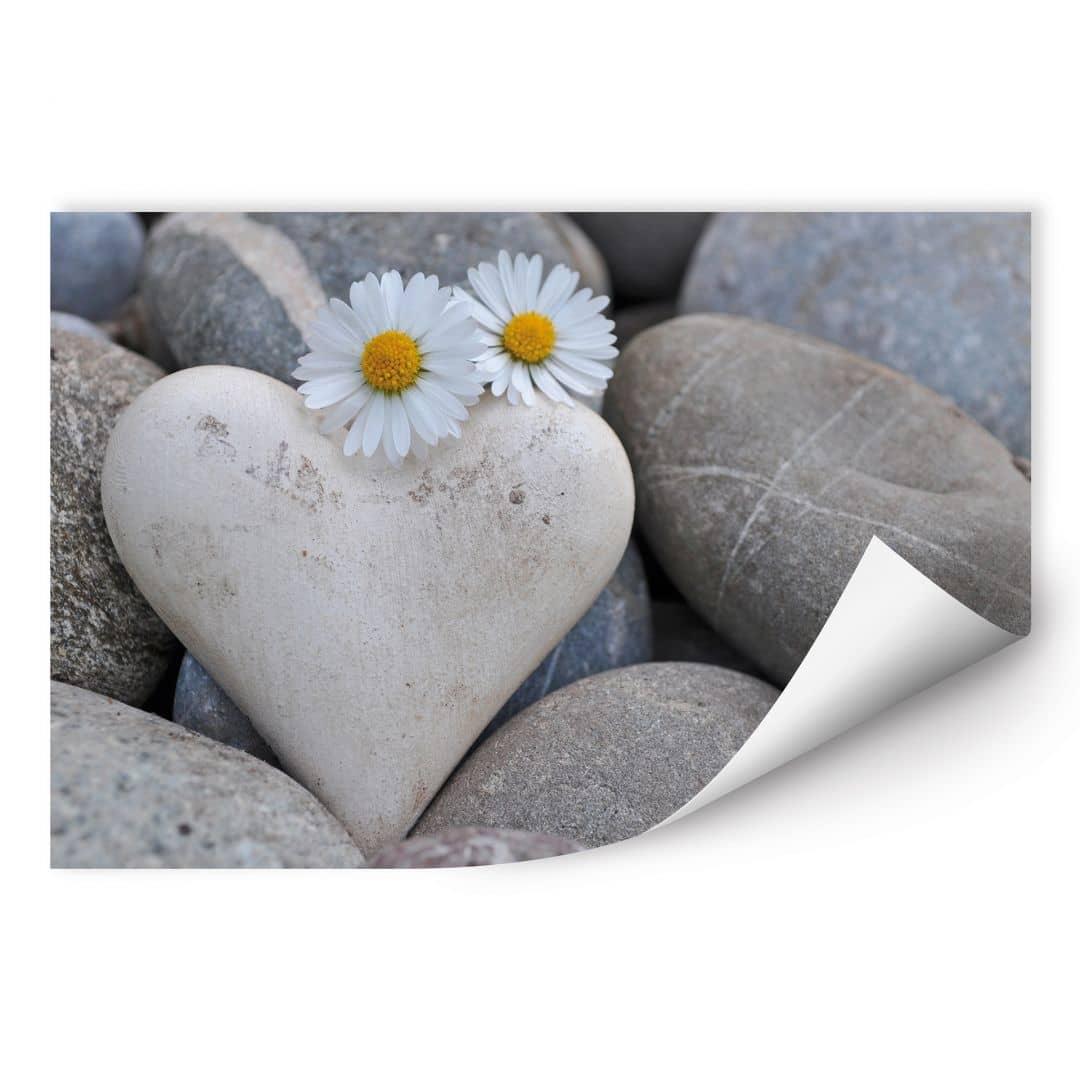 Wallprint W - Liebesblumen